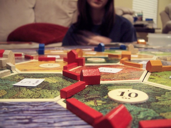 The only thing you need to worry about is our mad board game skilz.
