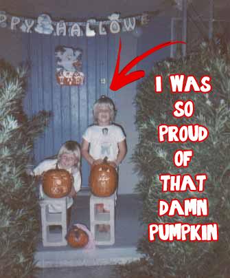 Derpy pumpkin? Check!
